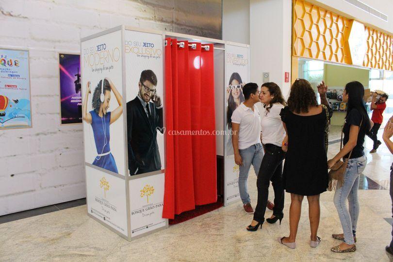 Inauguração Shopping Bosque.