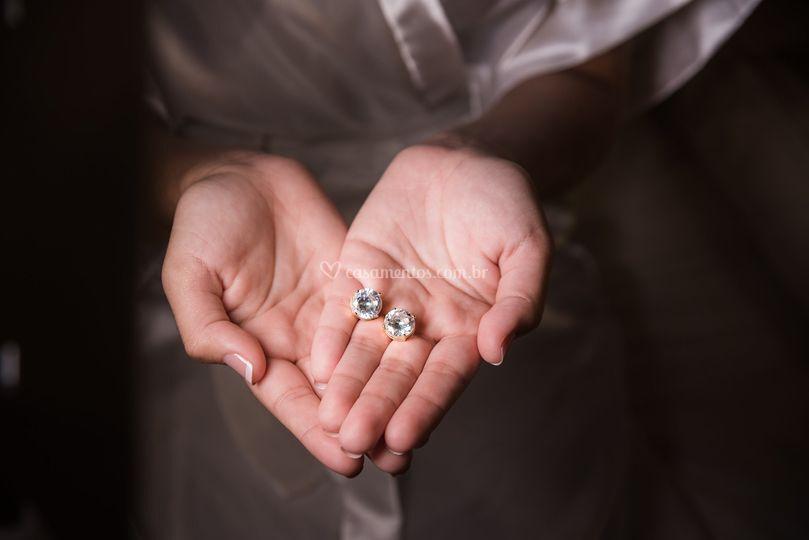 Noiva Bárbara e seus detalhes