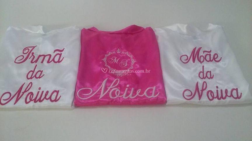 Branco bordado pink