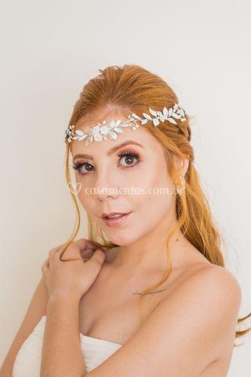 Headband para noiva