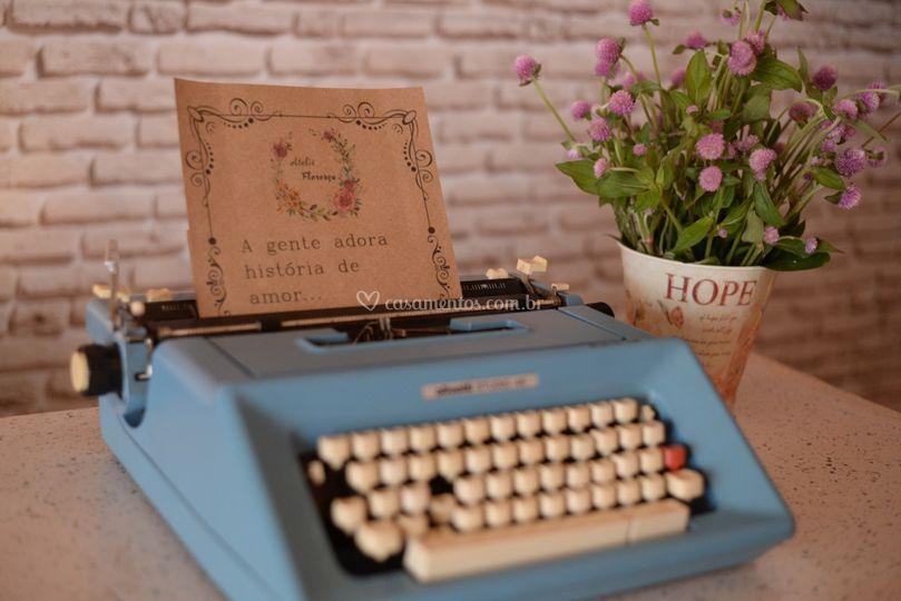 Adoramos histórias de amor...