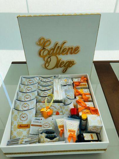 Caixa MDF kit toilette