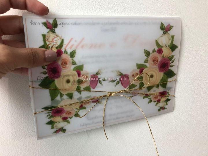 Envelope Vegetal