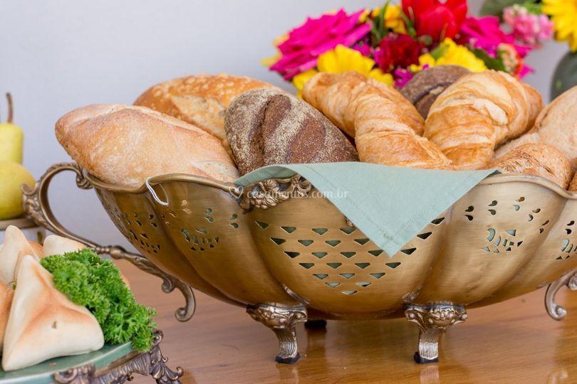 Cesto para pães