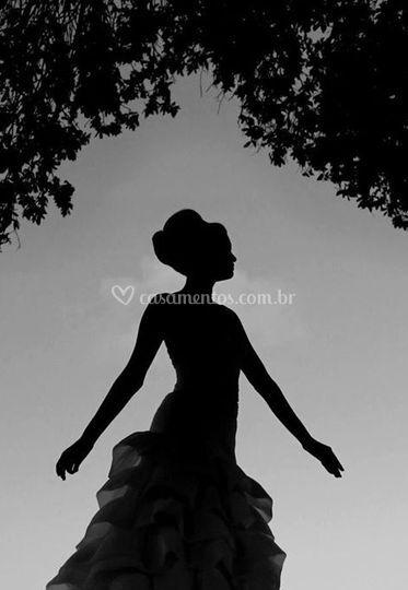 Beleza em preto e branco