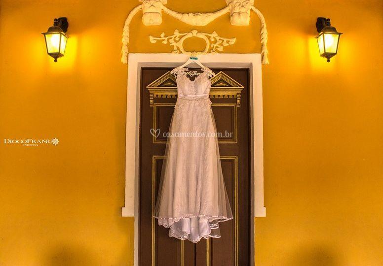 Vestido da noiva!
