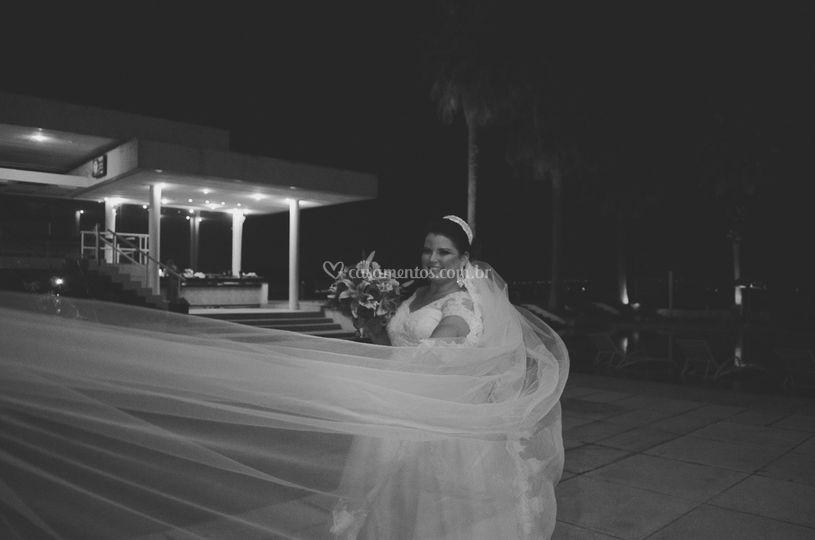 A noiva e o véu!