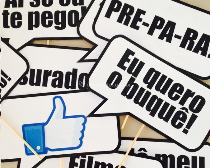 Placas Com Frases Engraçadas De La Carta Conviteria Foto 1