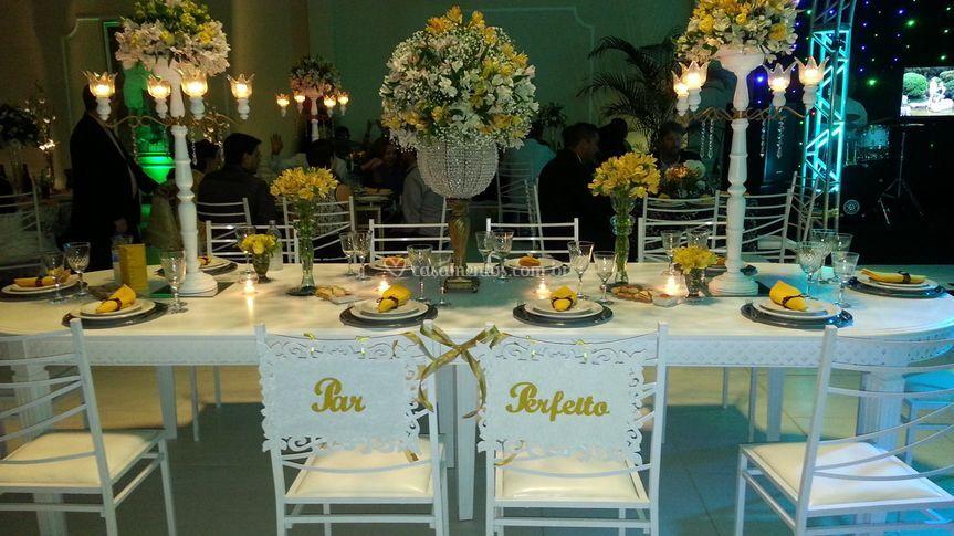 Mesa da noiva