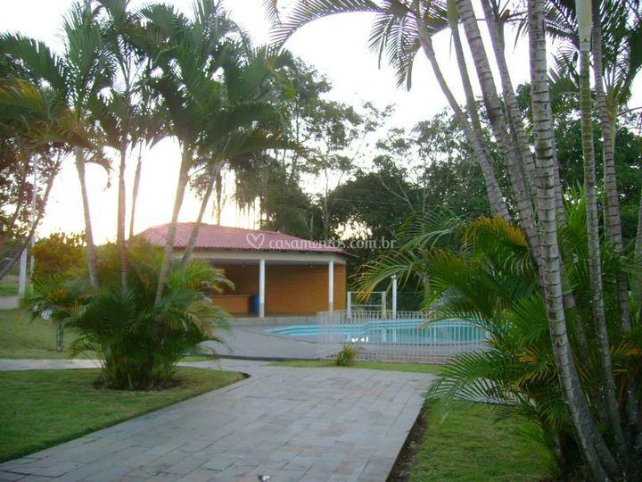 A casa e o salão