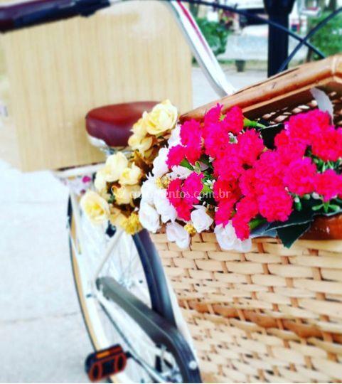 Food bike para seu casamento