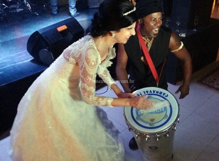 Participação dos noivos