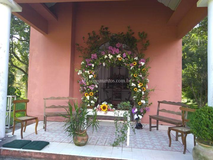 Capelinha decorada