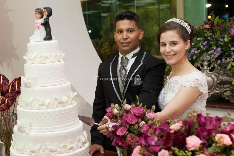 Casamento Leiziele e Jonatas