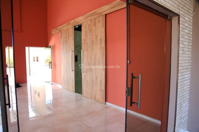 Porta Entrada Salão