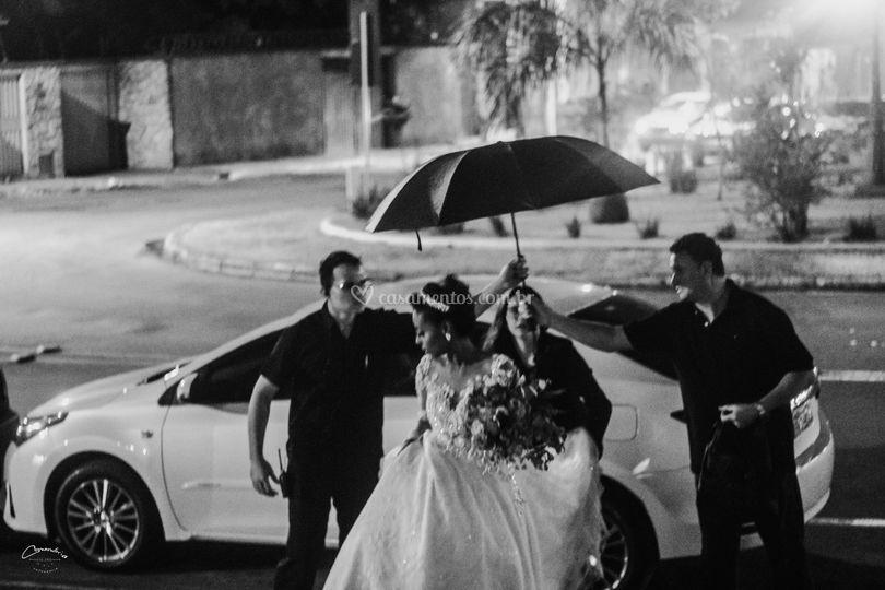 Mari & Gui chegada da noiva