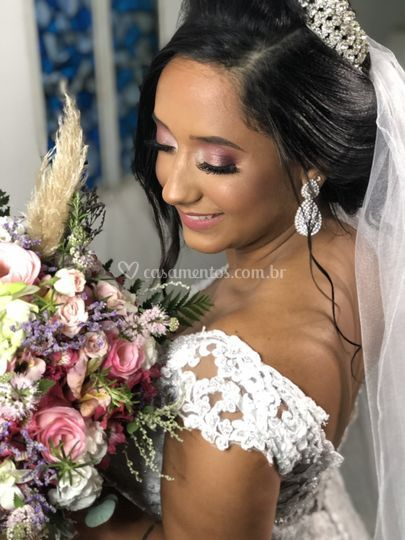 Noiva Thayane.