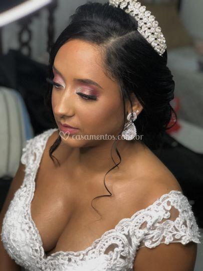 Noiva Thayane. Uma diva!