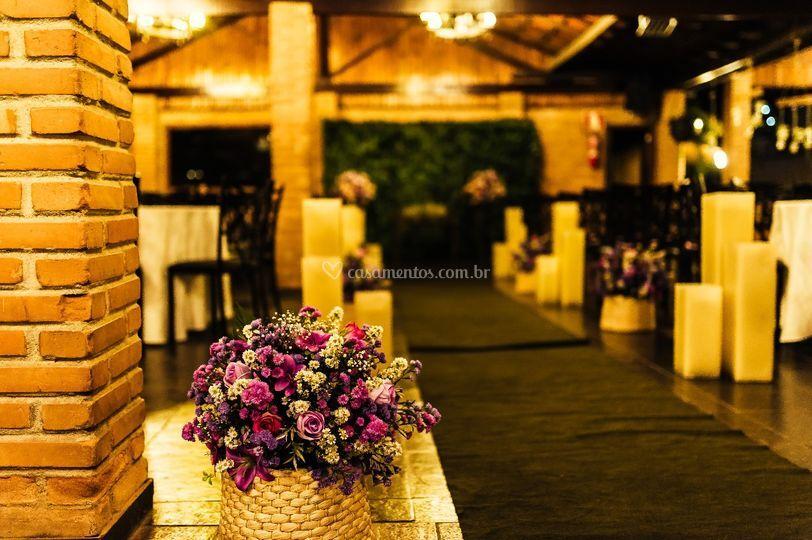 Conceito decoração e cerimonial