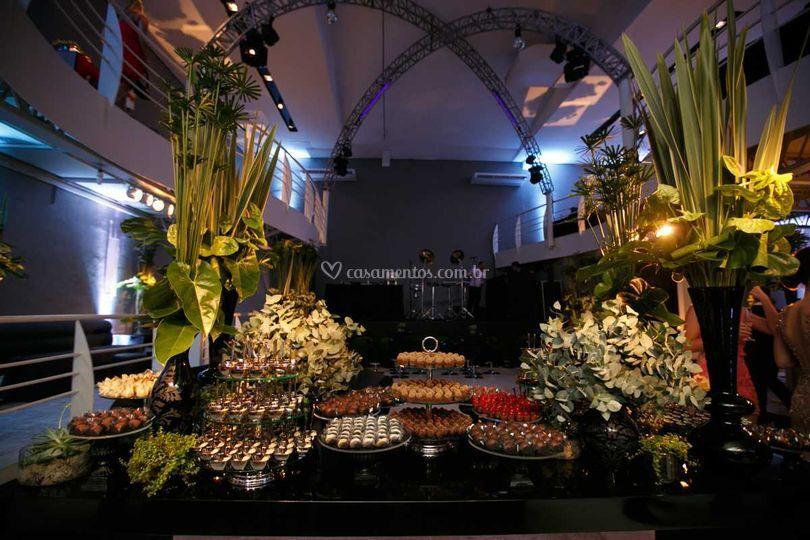 Eventos acima de 80 convidados