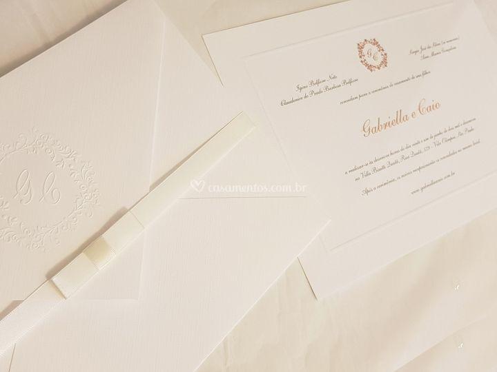 Convite 7: Bico 21 cm x 29 cm