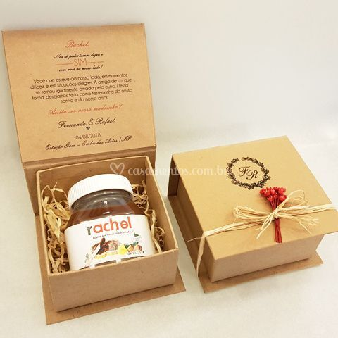 Kit 5 - Caixa Nutella