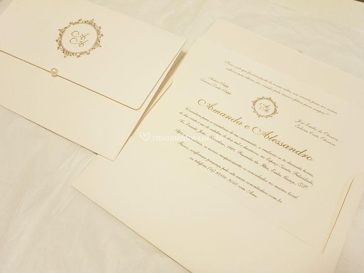 Convite 8: Reto 18 cm x 25 cm