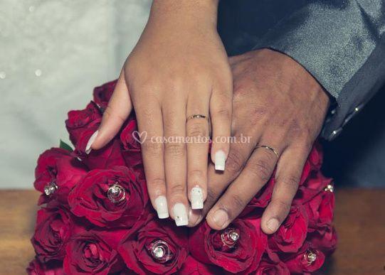 E teve um lindo casamento