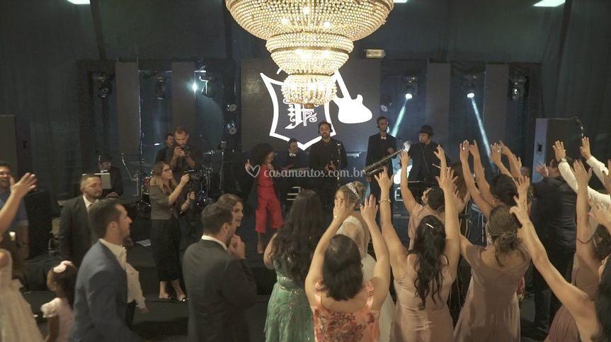 Banda gospel festa casamento