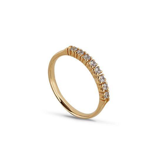 Ouro com diamante