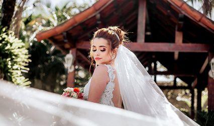 Hellen Ribeiro makeup