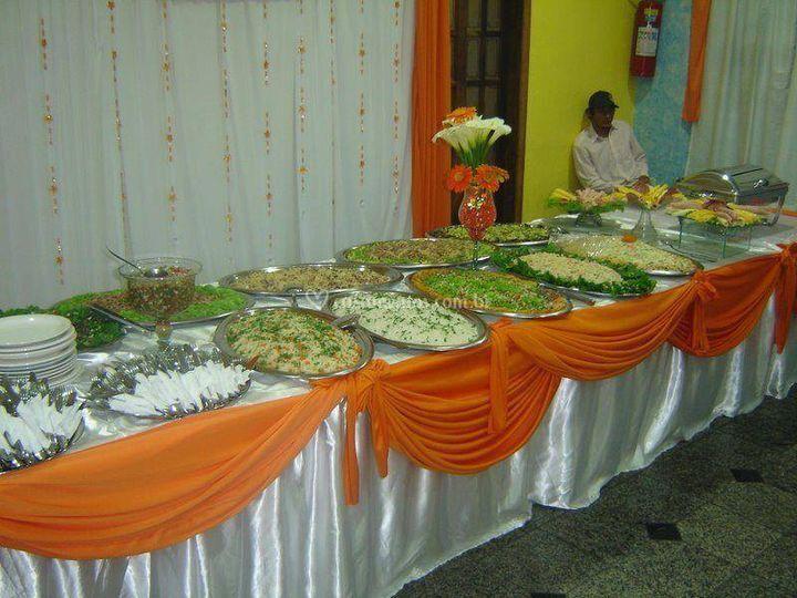 Mesa de comidas