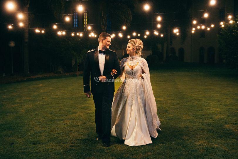 Casamento na jardim