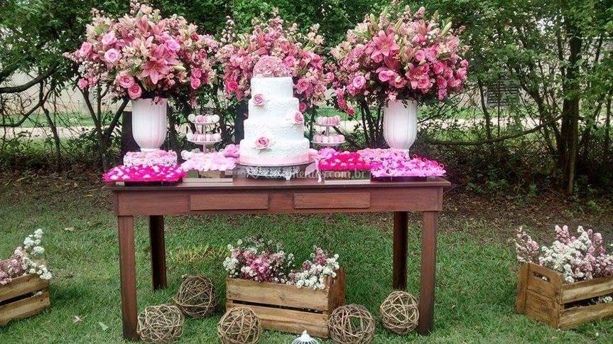 Casamento em sítio