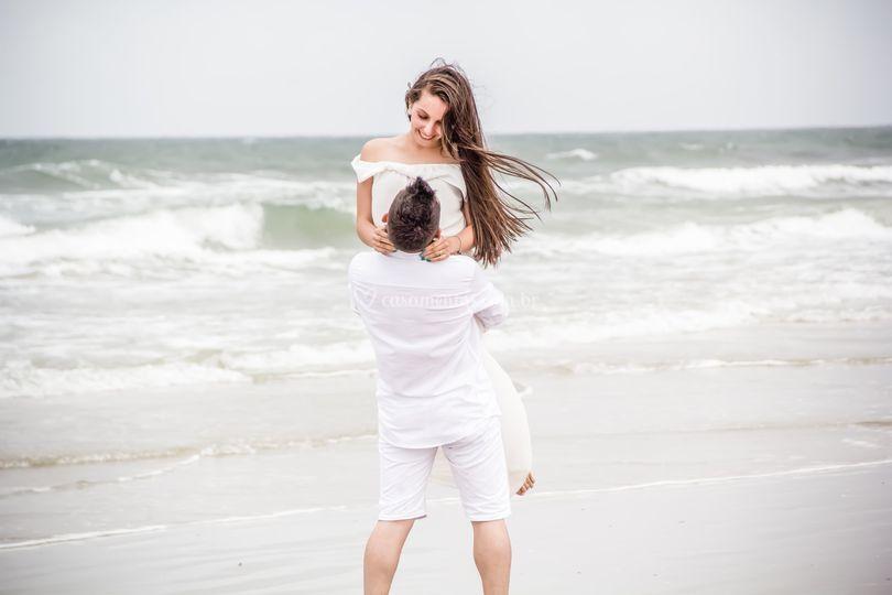 Pre casamento praia