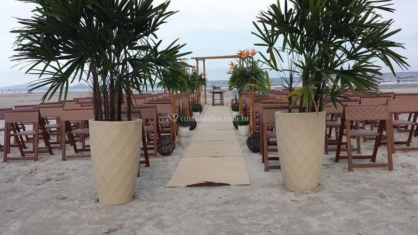 Decoração feita por Jk beach