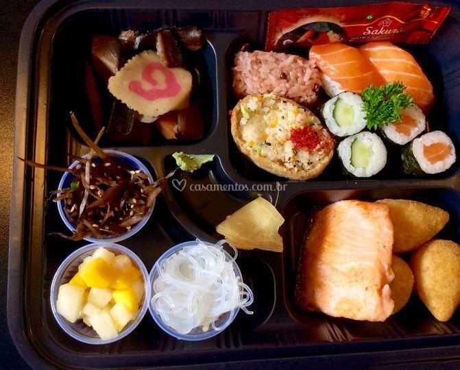 Bento box donbei