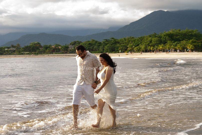 Pré Wedding Praia