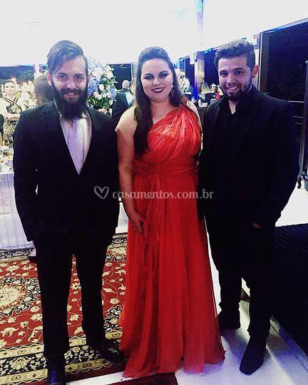 João, Ana e André