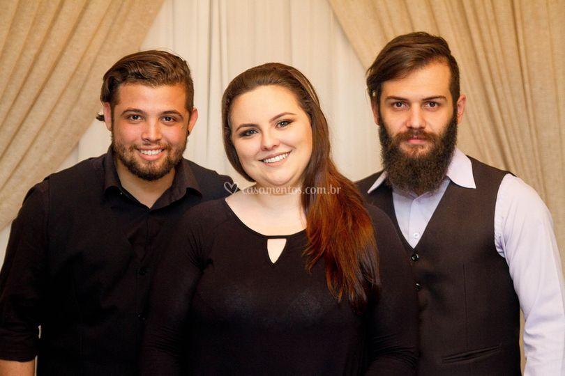 André, Ana e João