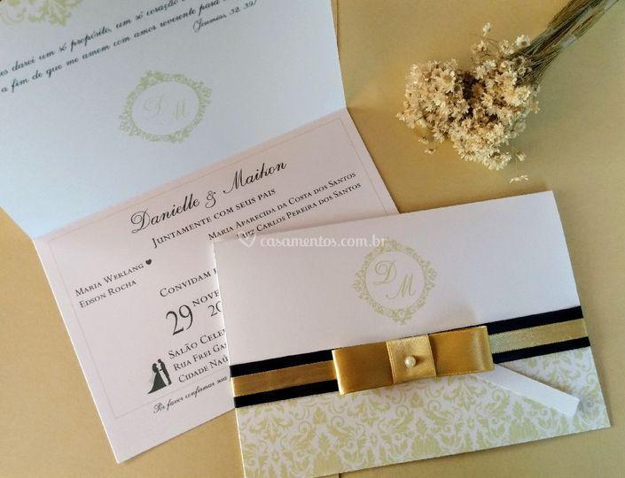 Convite clássico
