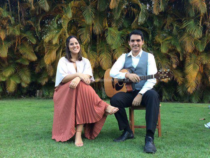 Pedro & Amanda - violão e voz