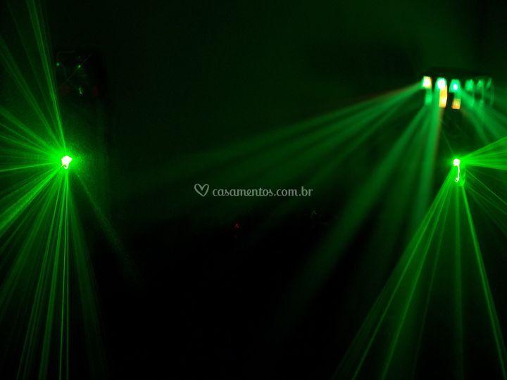 2 x laser -led