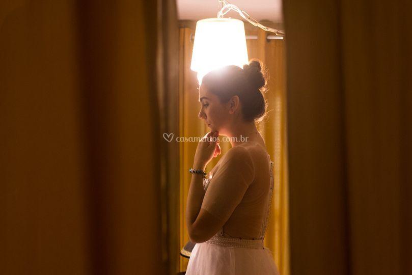 O momento da noiva.