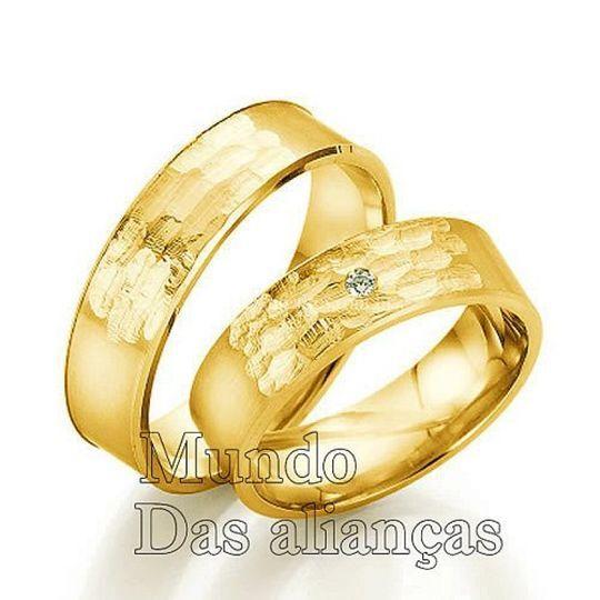 Alianças de casamento e noivad