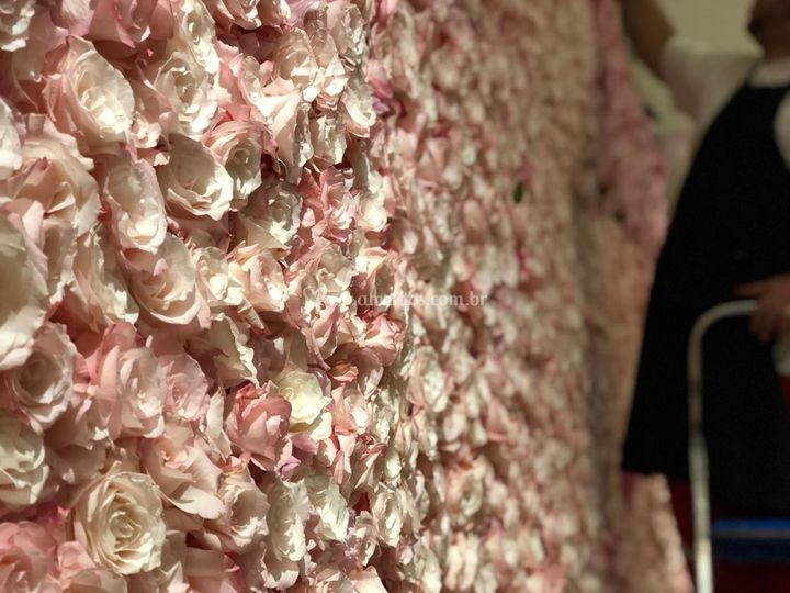 Muro de Flor Parede de Flores