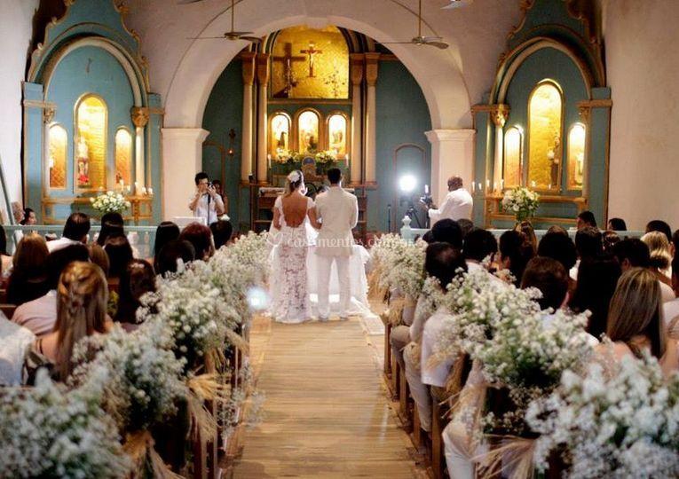 Casamentos capturados