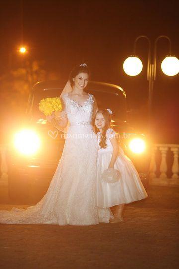 Ensaio noiva dama