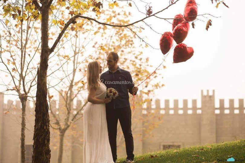 Pré Wedding Castelo Chambord