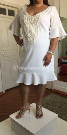Vestido básico noiva